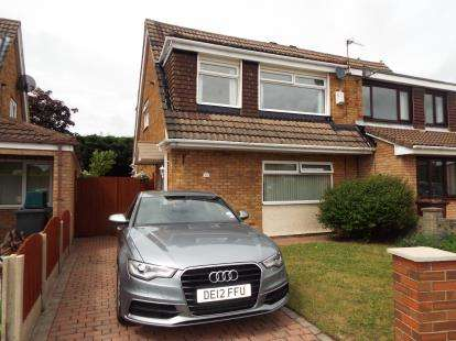 3 Bedrooms Semi Detached House for sale in Blackhurst Road, Lydiate, Liverpool, L31