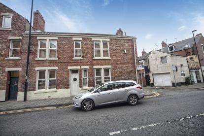 2 Bedrooms End Of Terrace House for sale in York Road, Whitley Bay, Tyne and Wear, Whitley Bay, NE26