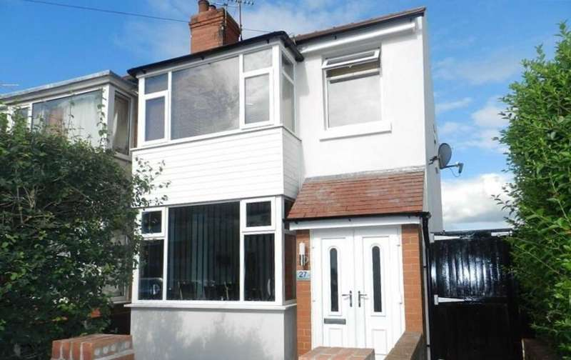3 Bedrooms End Of Terrace House for sale in Pickmere Avenue, Blackpool