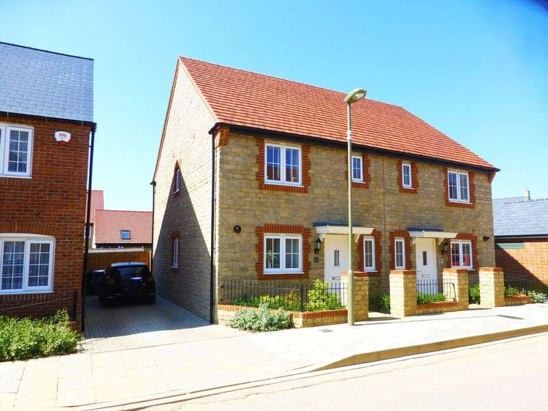 3 Bedrooms Semi Detached House for sale in Ascot Way, Bicester