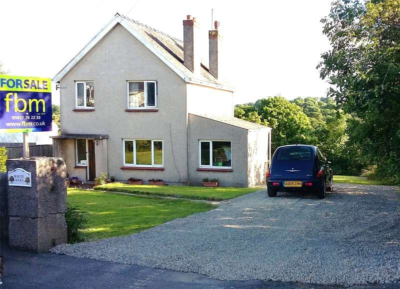 3 Bedrooms Detached House for sale in White Oaks, Newtown Road, Hook, Haverfordwest