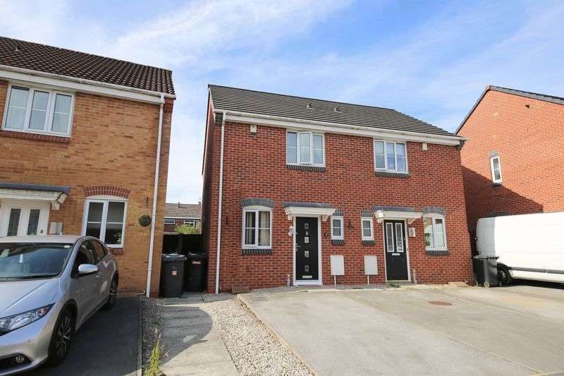 2 Bedrooms Semi Detached House for sale in Crossfield Drive, Hindley Green, Wigan