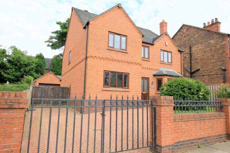 6 Bedrooms Detached House for sale in Queens Road, Penkhull