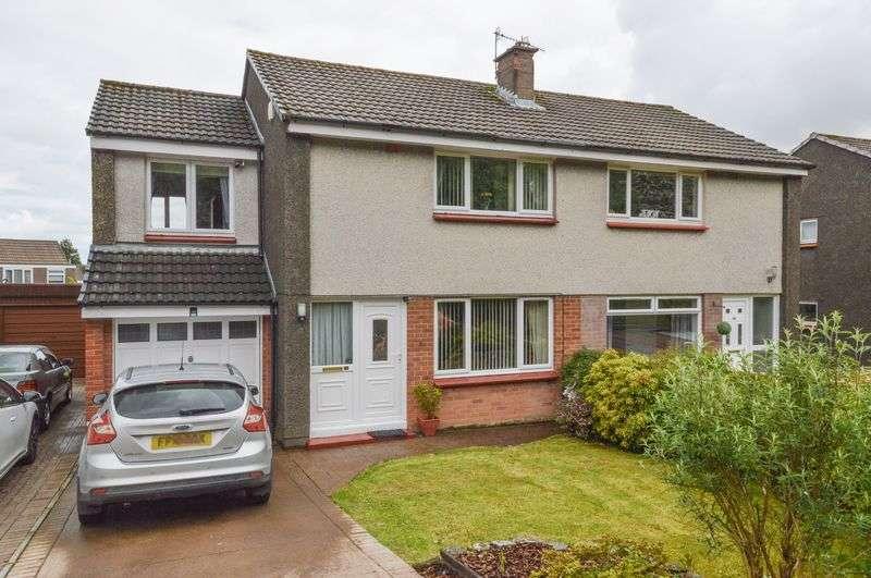 3 Bedrooms Semi Detached House for sale in 52 Mauricewood Road, Penicuik, Midlothian, EH26 0JP
