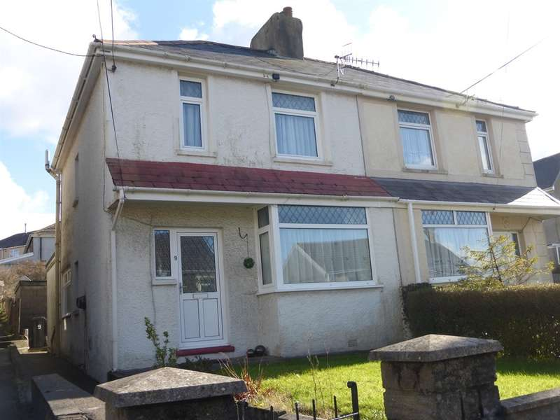 3 Bedrooms Semi Detached House for sale in Heol Y Felin, Seven Sisters, Neath