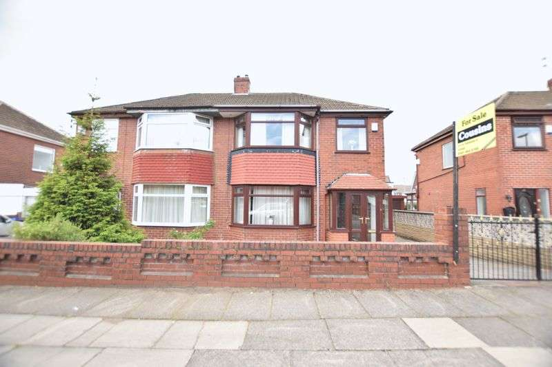 3 Bedrooms Semi Detached House for sale in West Avenue, Manchester