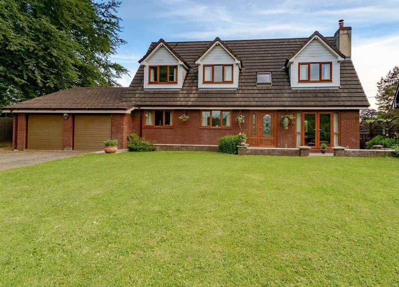 5 Bedrooms Detached House for sale in The Willows, Beulah, Llanwrytd Wells
