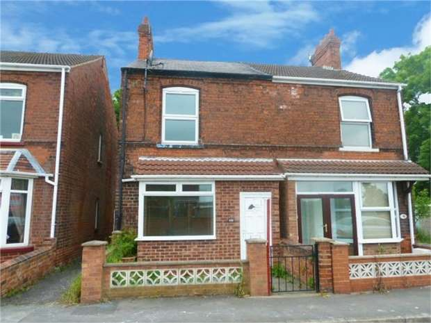 2 Bedrooms Semi Detached House for sale in Station Road, Misterton, Doncaster, South Yorkshire