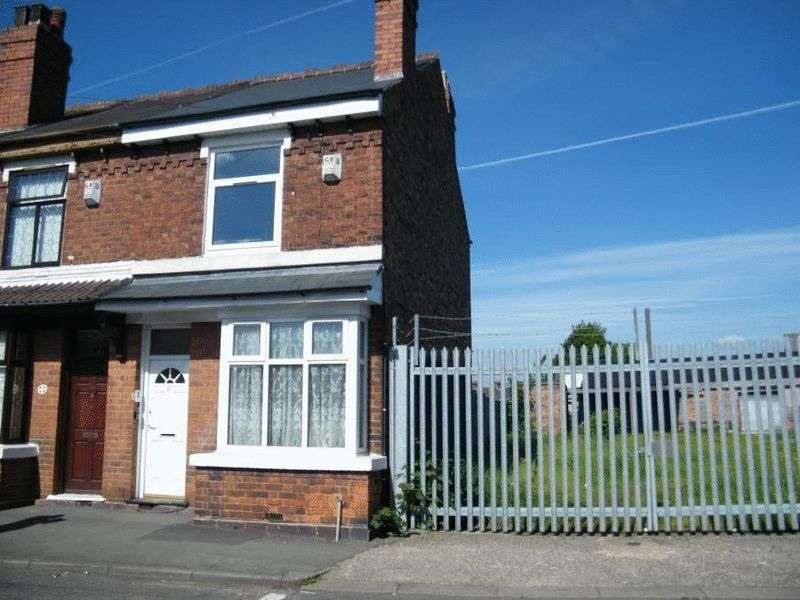 3 Bedrooms Terraced House for sale in Cemetery Road, Willenhall