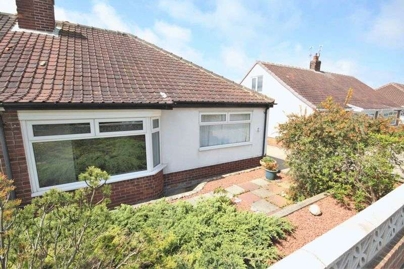 2 Bedrooms Semi Detached Bungalow for sale in Marshall Drive, Brotton ***WITH MEDIA TOUR***