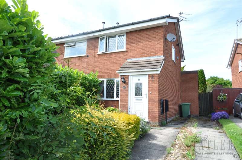 2 Bedrooms Semi Detached House for sale in Headington Road, Saughall Massie, Wirral