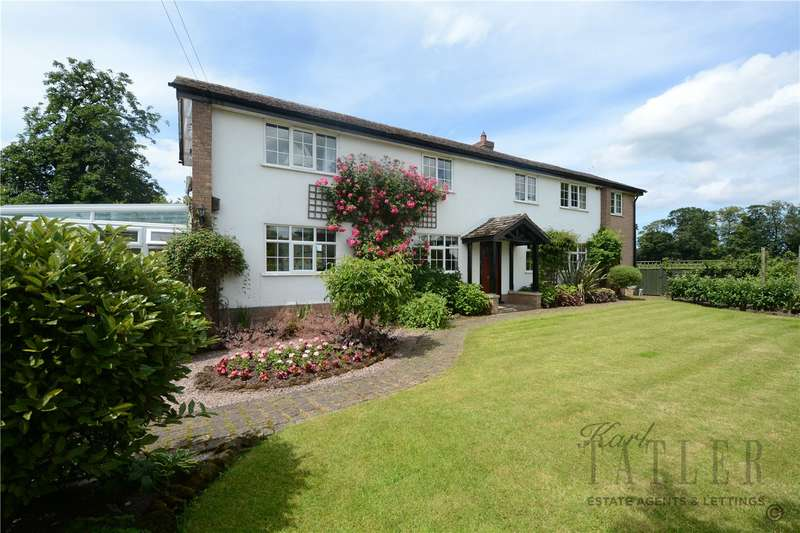 4 Bedrooms Detached House for sale in Old Hall Close, Puddington, Neston