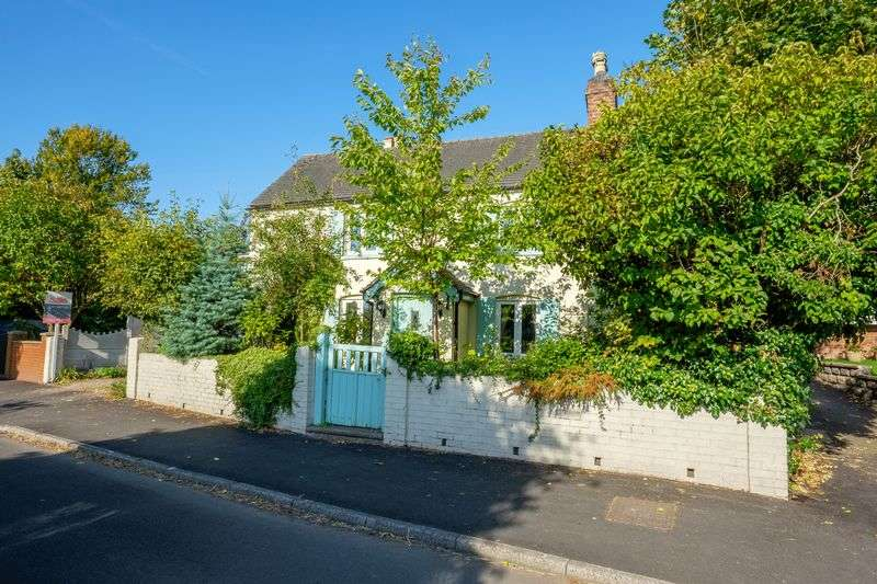 3 Bedrooms Detached House for sale in Meadow View Cottage, The Pavement, Brewood