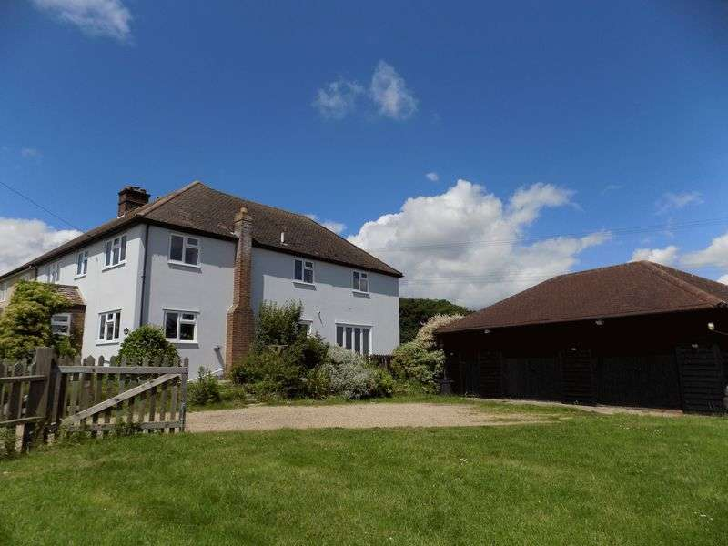 5 Bedrooms Semi Detached House for sale in Wonderfully situated in a rural location with far reaching farmland views to the front and to the rear, this sizeable five bedroom, three reception ro