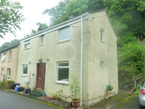 3 Bedrooms End Of Terrace House for sale in Quarry Terrace, Par, Cornwall