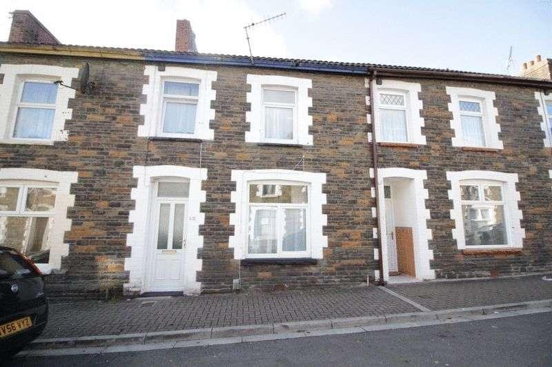 4 Bedrooms Terraced House for sale in Queen Street, Treforest, Pontypridd, CF37 1RW