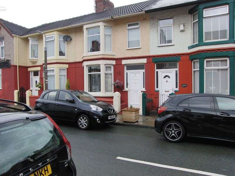 3 Bedrooms Terraced House for sale in Chatsworth Avenue, Liverpool