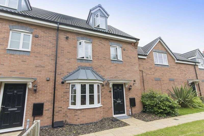 4 Bedrooms House for sale in NEWHAM CLOSE, HARLOW FIELDS, MACKWORTH