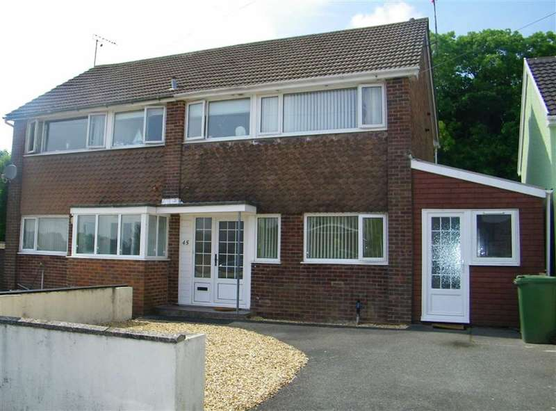 3 Bedrooms Semi Detached House for sale in Bunkers Hill, Steynton, Milford Haven