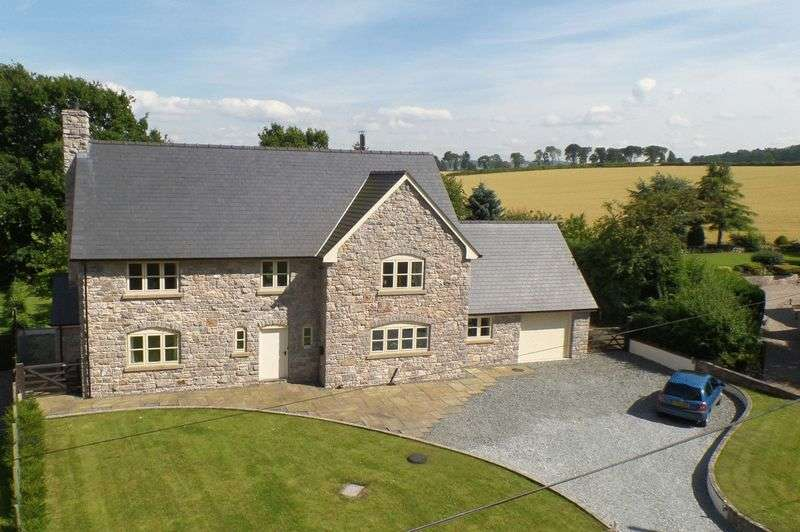 5 Bedrooms Detached House for sale in Tre-Mostyn, Near Whitford