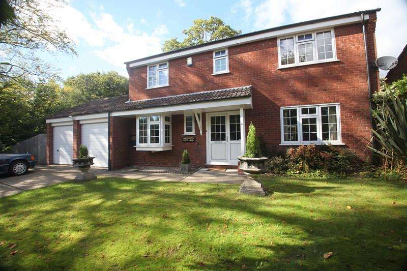 4 Bedrooms Detached House for sale in Abbeyfields Close, Netley Abbey, Southampton