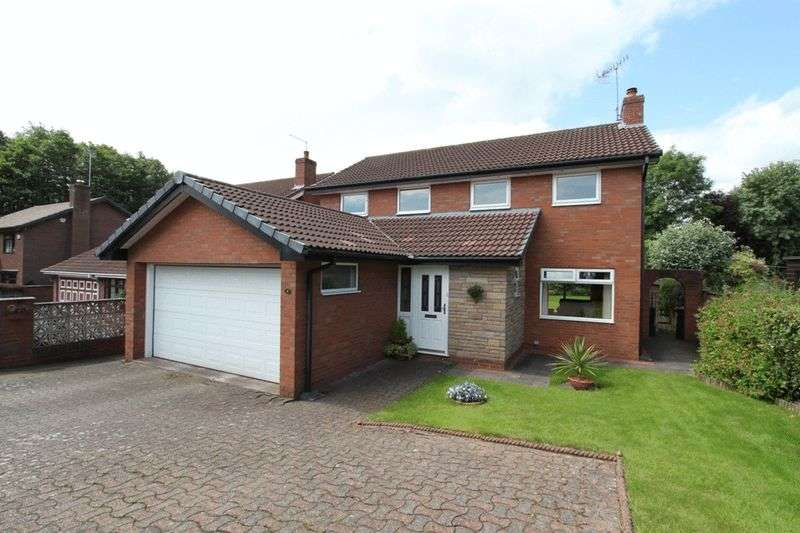4 Bedrooms Detached House for sale in Castel Close, Seabridge