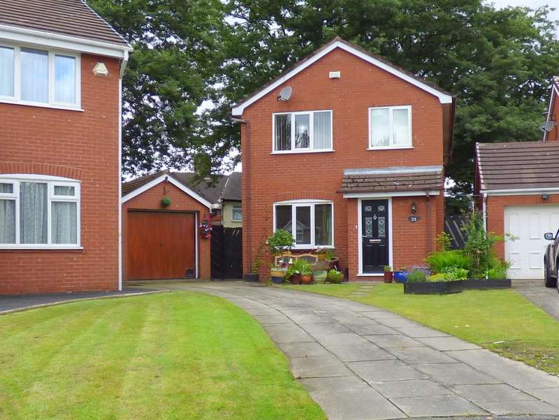 4 Bedrooms Detached House for sale in Grangewood, Bowring Park, Liverpool