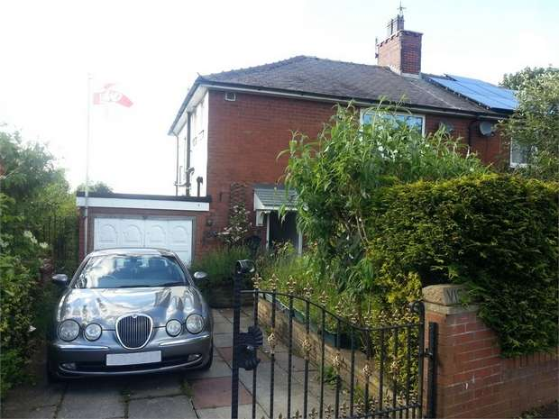 2 Bedrooms Semi Detached House for sale in Gainsborough Avenue, Burnley, Lancashire