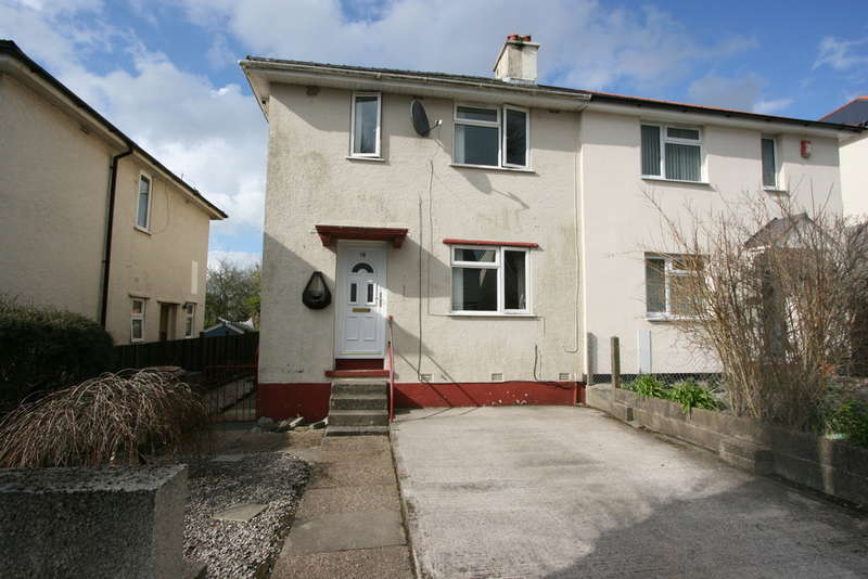 3 Bedrooms Semi Detached House for sale in Floyd Close, North Prospect, Plymouth