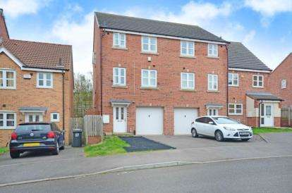 4 Bedrooms Town House for sale in Myrtle Drive, Sheffield, South Yorkshire
