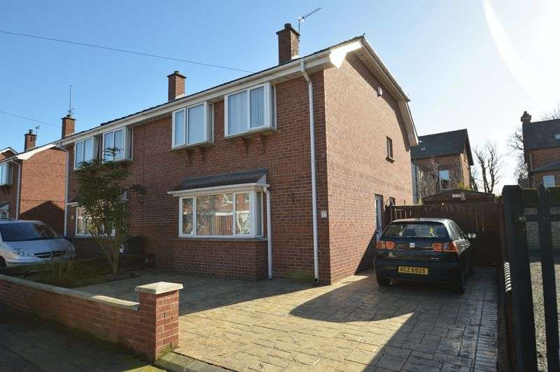 3 Bedrooms Semi Detached House for sale in 7 Ravenhill Gardens, Belfast, BT6 8GP