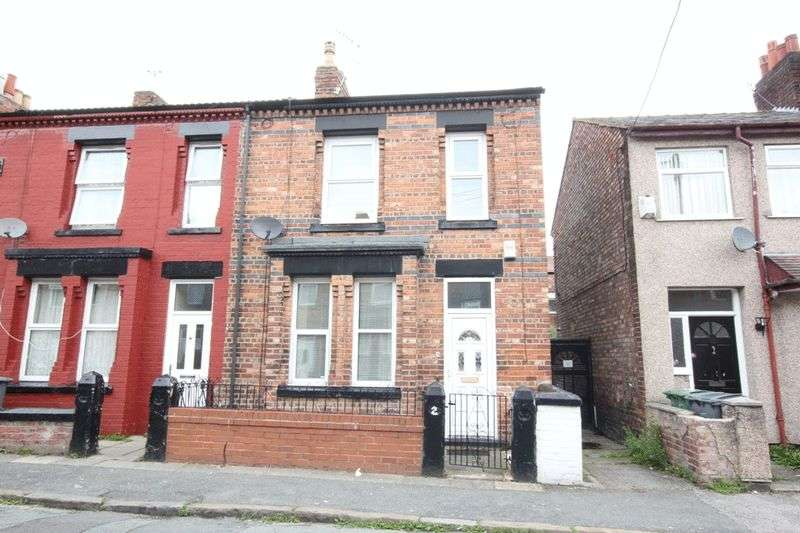 2 Bedrooms Terraced House for sale in Tudor Road, Rock Ferry, Wirral