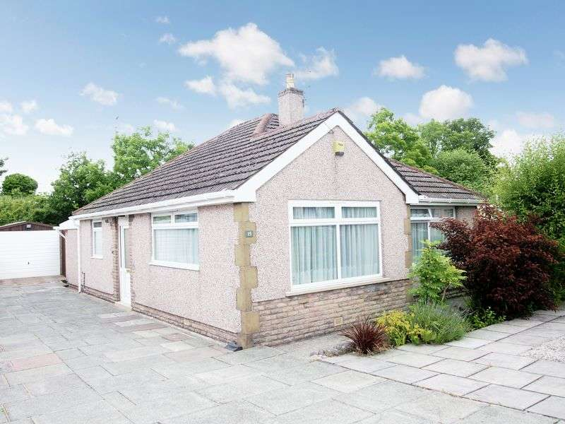 2 Bedrooms Detached Bungalow for sale in Westfield Drive, Bolton Le Sands, Carnforth