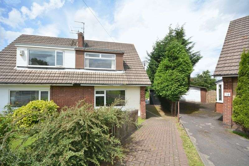 3 Bedrooms Semi Detached House for sale in Cambridge Drive, Knuzden