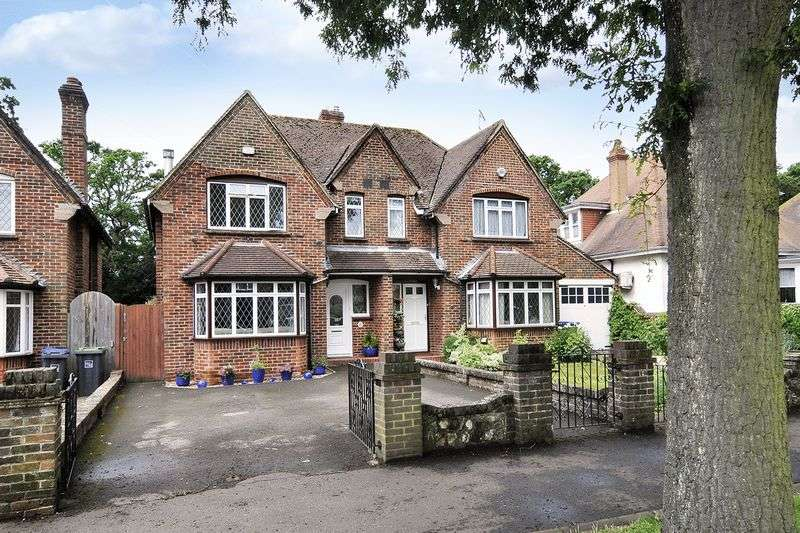 3 Bedrooms Semi Detached House for sale in Offington Avenue, Worthing