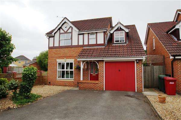 4 Bedrooms Detached House for sale in Gervaise Close, Cippenham