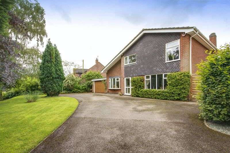 4 Bedrooms Detached House for sale in THE BIRCHES, MARLPIT LANE, SUTTON-ON-THE-HILL