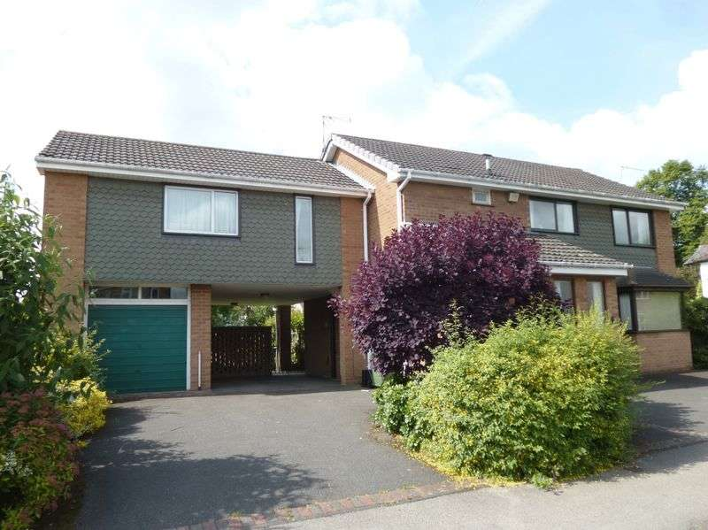 4 Bedrooms Detached House for sale in Ambleside Way, St Nicolas Park, Nuneaton