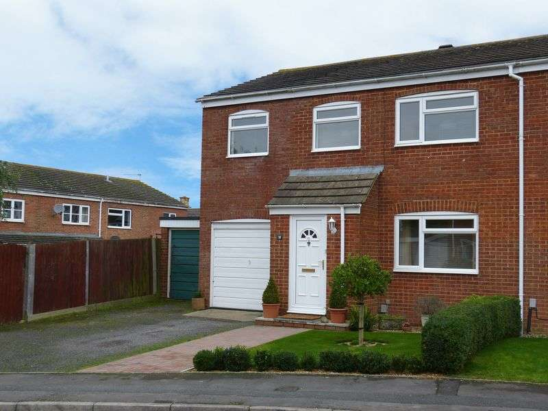 4 Bedrooms Semi Detached House for sale in Pains Way, Amesbury