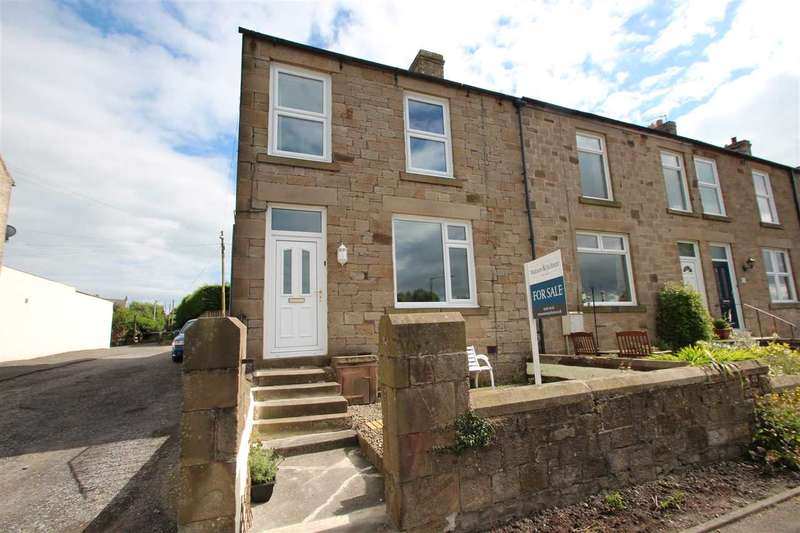 3 Bedrooms End Of Terrace House for sale in North View, Medomsley, County Durham