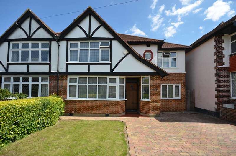 4 Bedrooms Semi Detached House for sale in Manor Drive North, Worcester Park, KT4