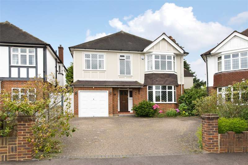 4 Bedrooms Detached House for sale in Cromford Way, New Malden, KT3
