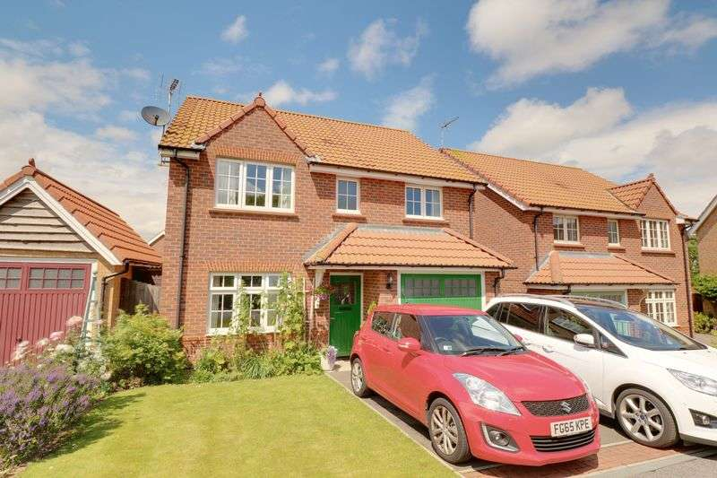 4 Bedrooms Detached House for sale in Tomlinson Drive, Barton-Upon-Humber