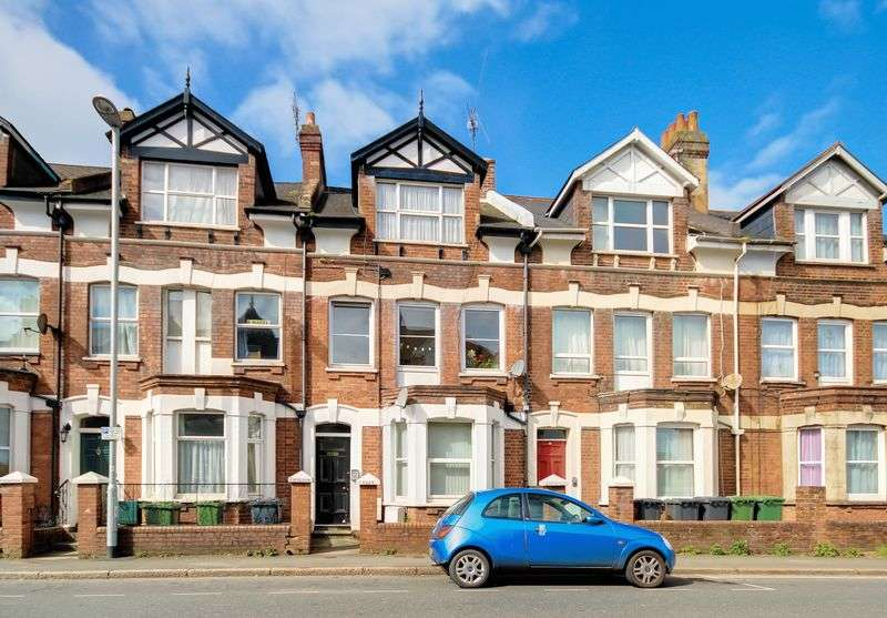 1 Bedroom Flat for sale in Mount Pleasant Road, Exeter