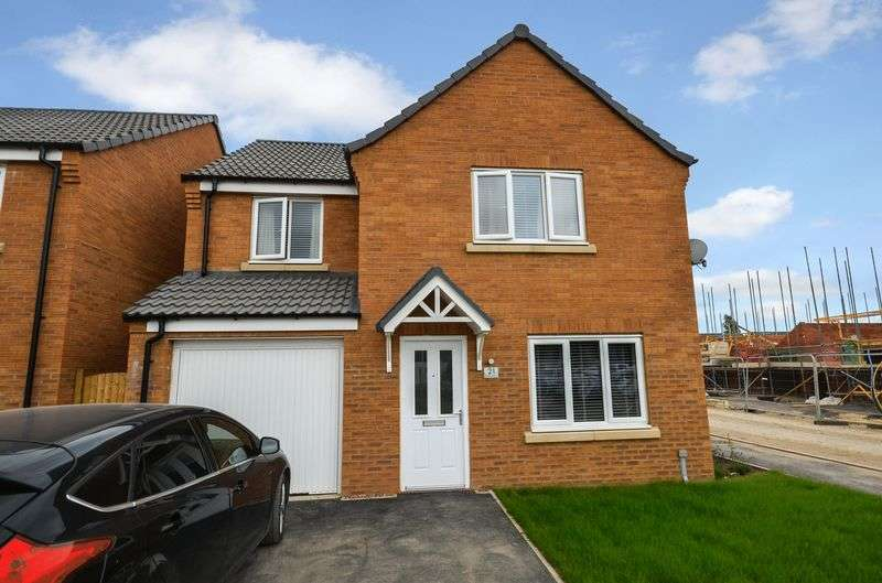 4 Bedrooms Detached House for sale in 21 Ferrous Way, Hykeham, Lincoln, LN6 9ZN