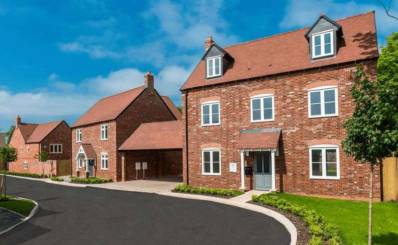 5 Bedrooms Detached House for sale in QUEENS COURT, RAVENSTONE - Plot 17, Oakthorpe