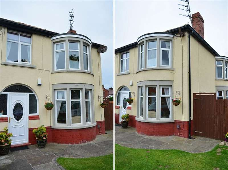 3 Bedrooms Semi Detached House for sale in Langfield Avenue, South Shore, Blackpool, FY4 2PG