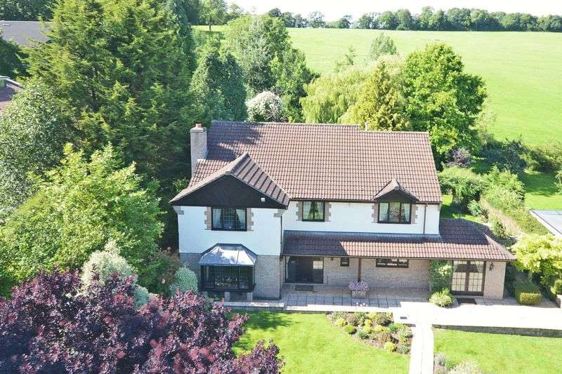 4 Bedrooms Detached House for sale in Lascot Hill, Wedmore, Somerset, BS28
