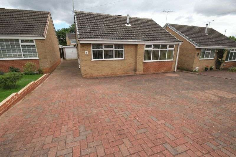 2 Bedrooms Detached Bungalow for sale in PINE CLOSE, CHADDESDEN