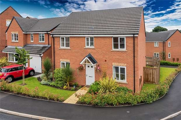 4 Bedrooms Detached House for sale in 27 Stone Drive, Shifnal, Shropshire